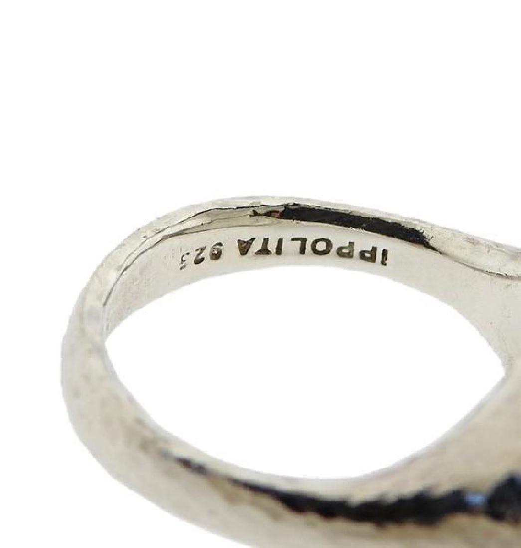 Ippolita Sterling Silver Crystal Ring - 3