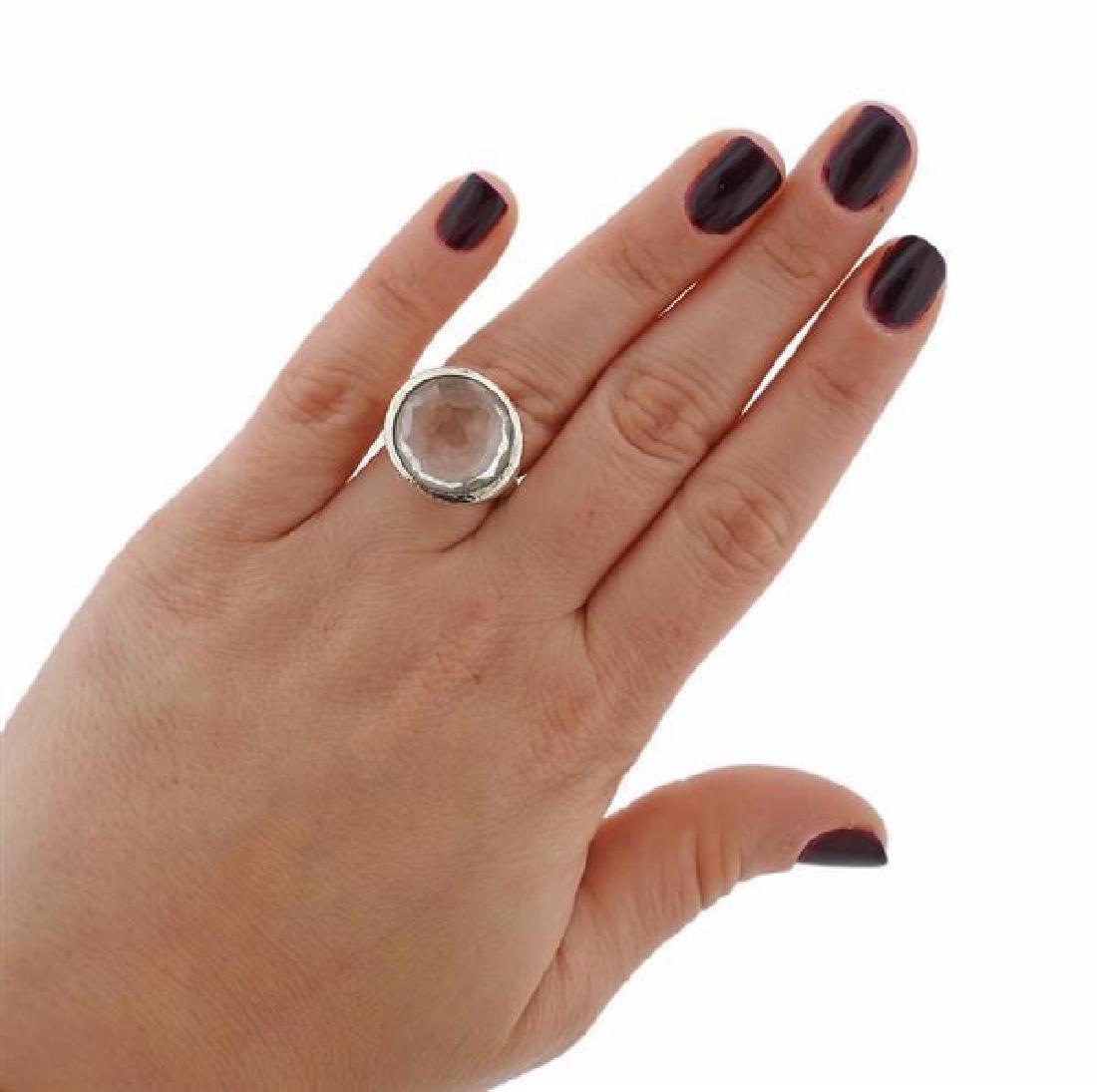 Ippolita Sterling Silver Crystal Ring - 4