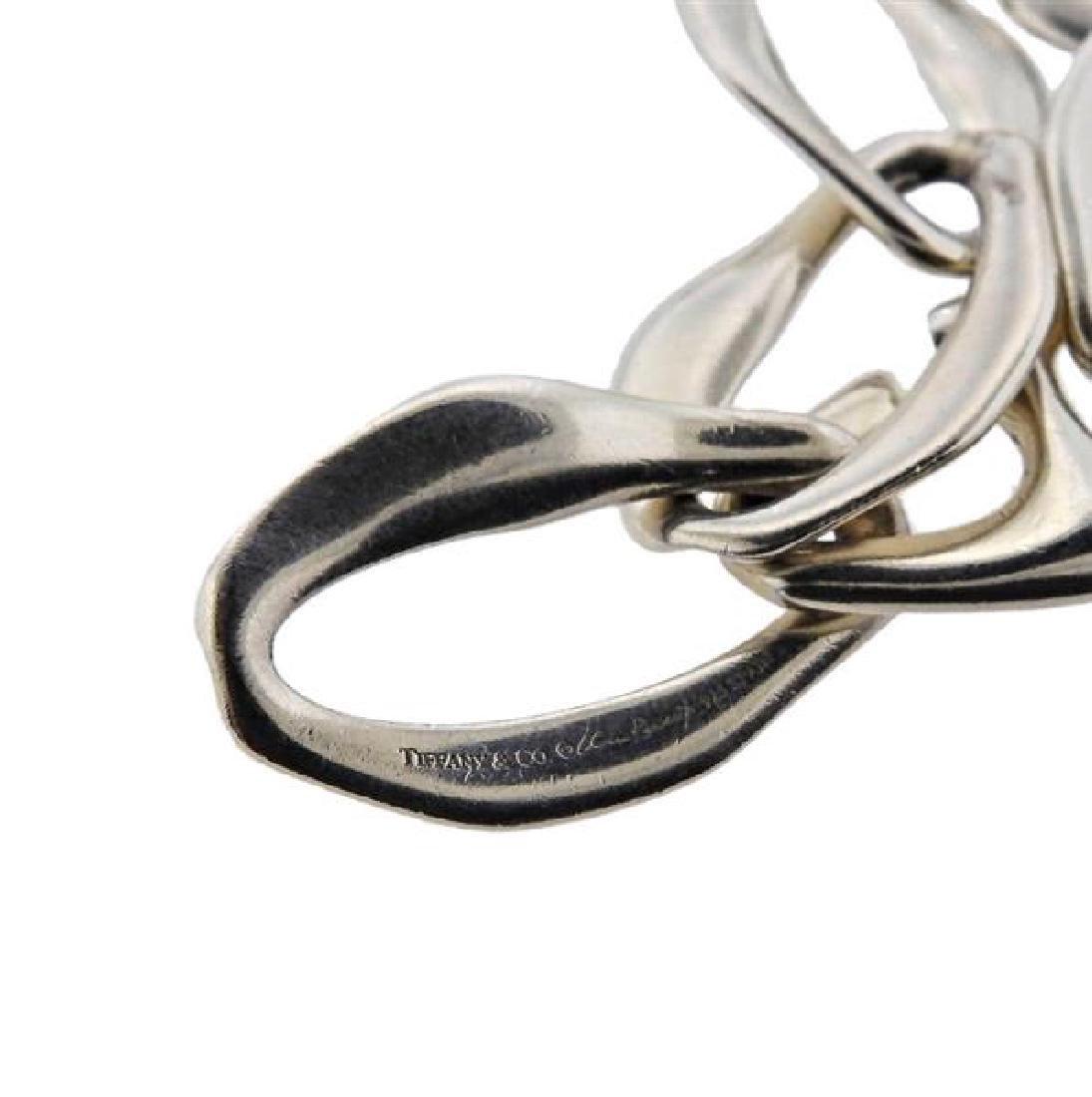 Tiffany & Co Peretti Aegean Silver Link Necklace - 3