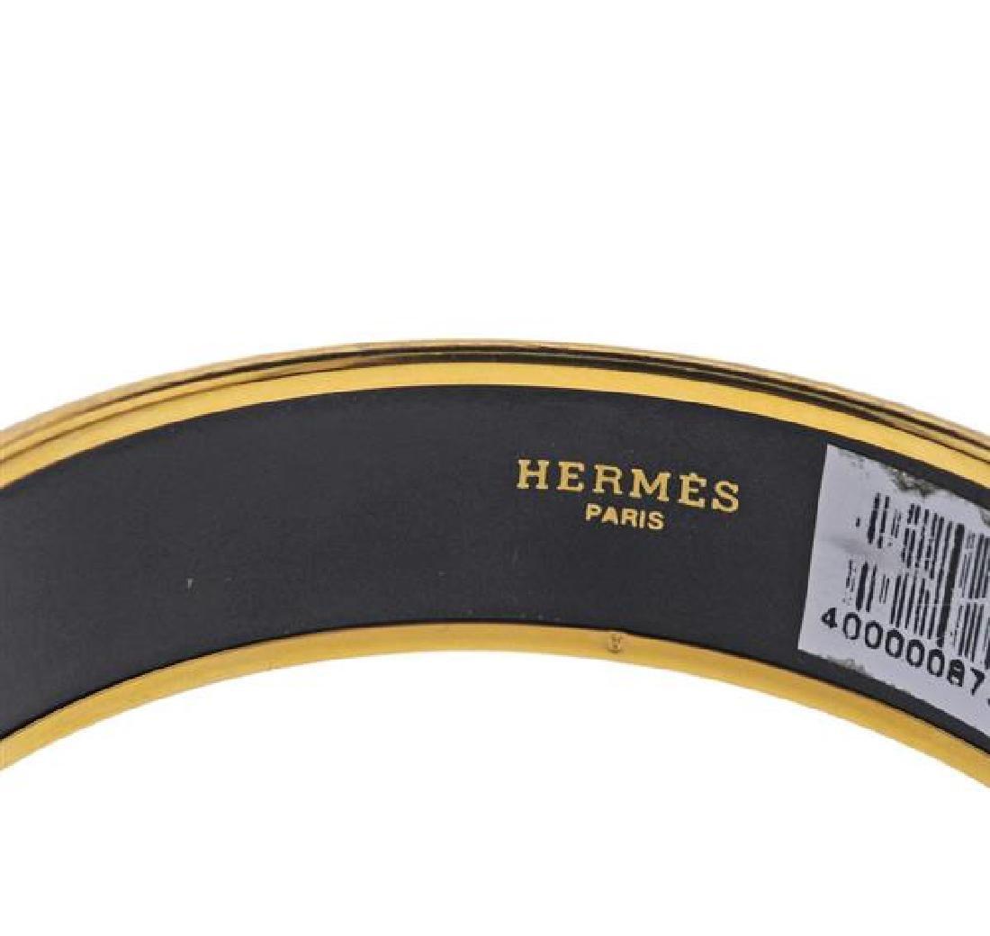 Hermes Enamel Bangle Bracelet - 2