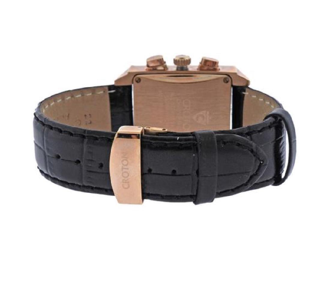 Croton Chronomaster Rose Tone Steel Watch - 2