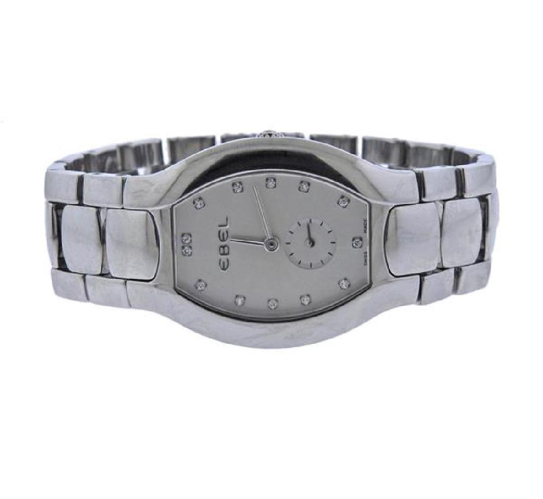 Ebel Beluga Diamond Stainless Steel Watch