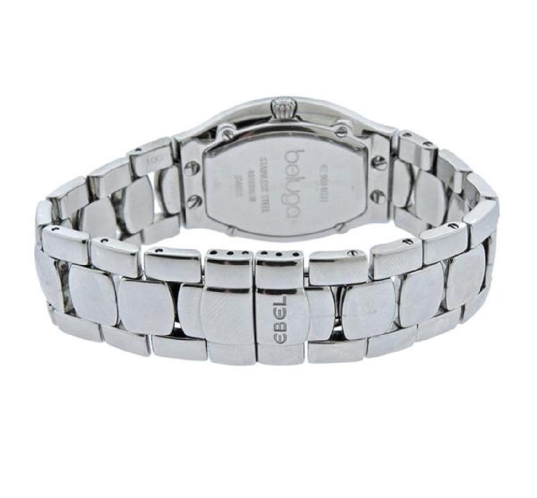 Ebel Beluga Diamond Stainless Steel Watch - 3