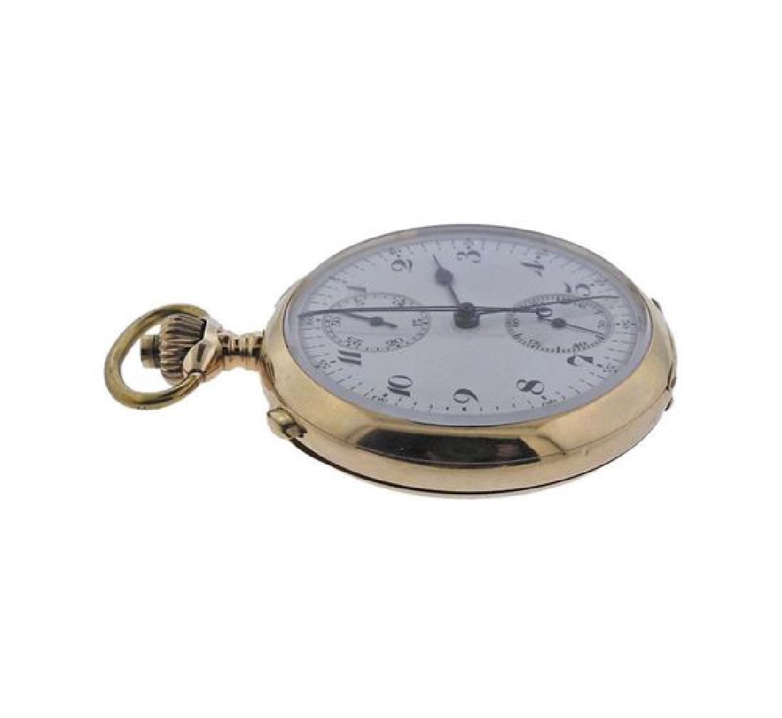 Antique Lugrin Gold Split Second Chronograph Repeater - 2