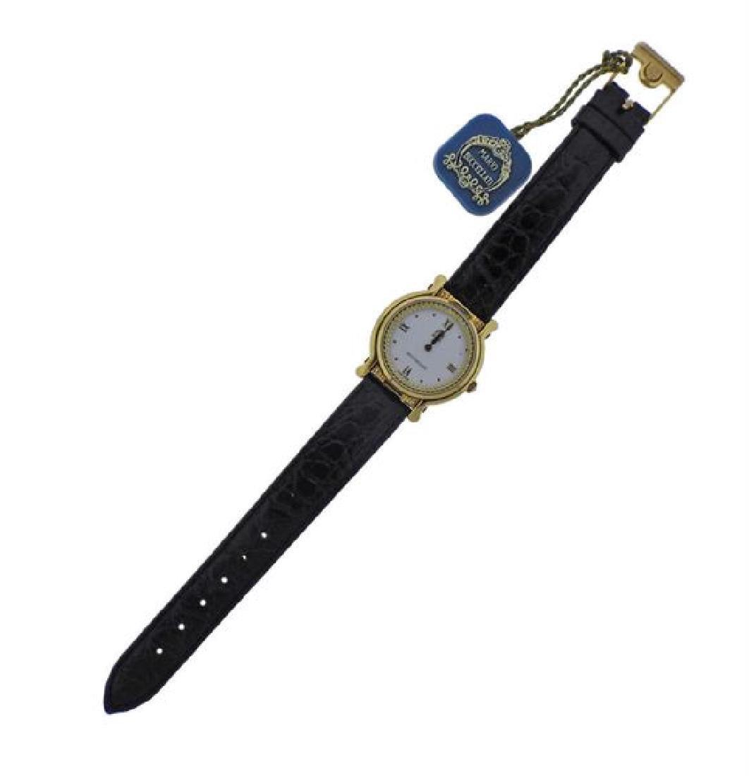 Mario Buccellati 18k Gold Watch No. 014