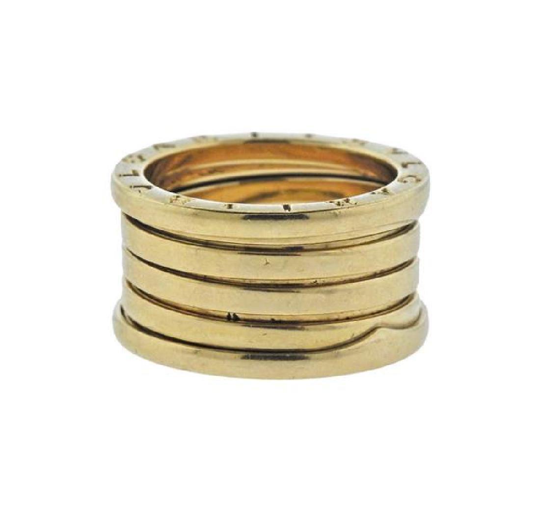 Bvlgari Bulgari B.Zero1 18K Gold Ring Size 56