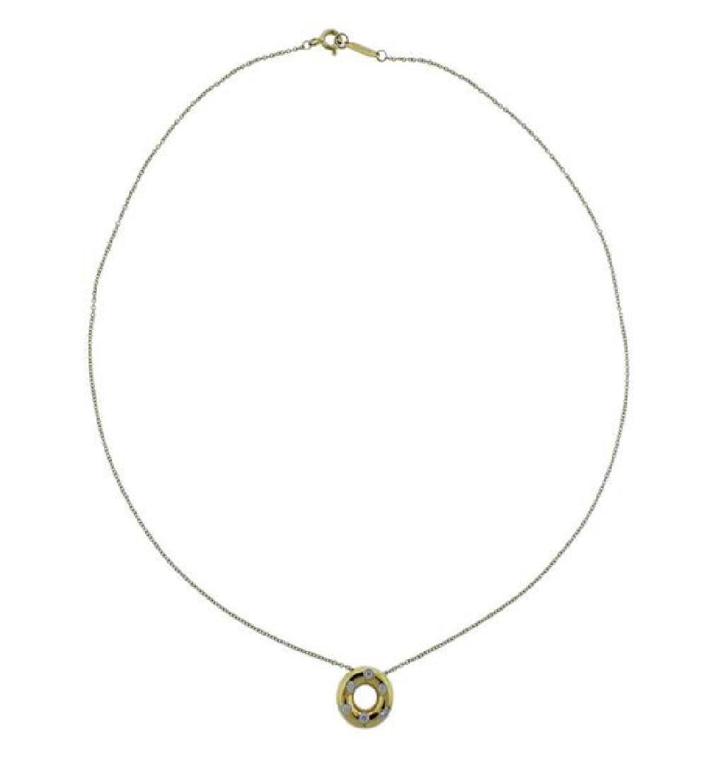 Tiffany & Co Etoile Platinum 18K Gold Diamond