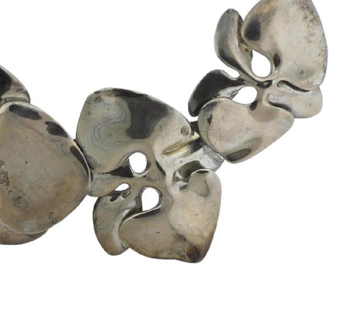 Angela Cummings Sterling Silver Orchid Necklace - 2