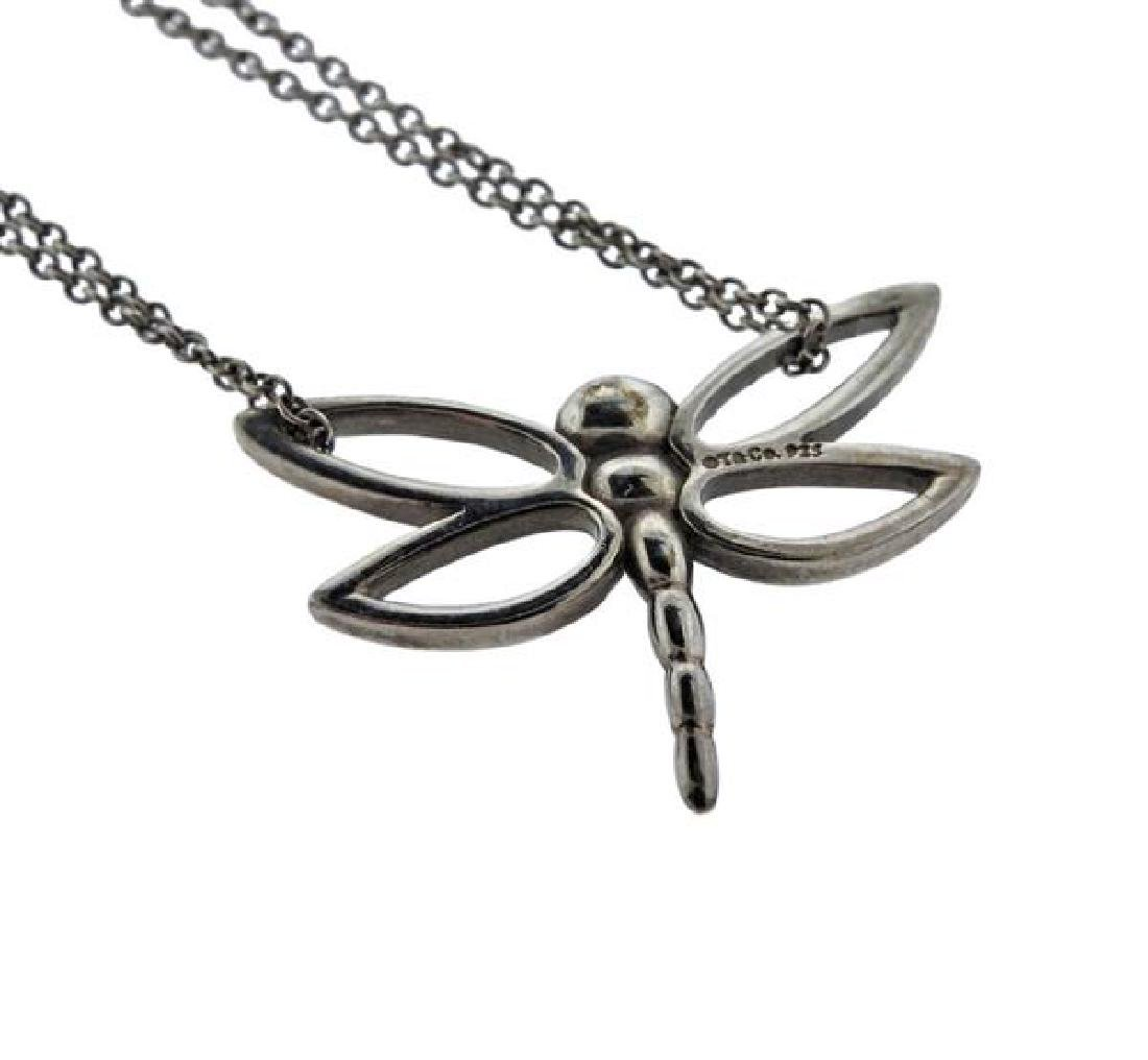 Tiffany & Co Sterling Dragonfly Double Chain - 3