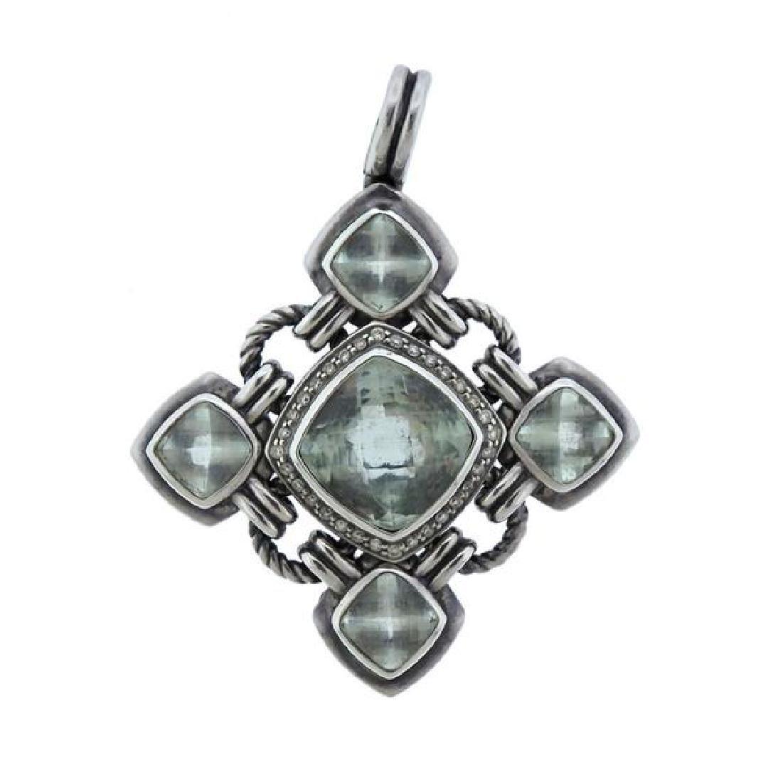 David Yurman Renaissance Silver Diamond Gemstone