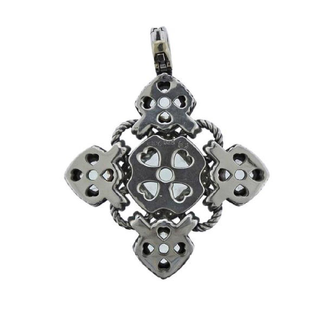 David Yurman Renaissance Silver Diamond Gemstone - 3