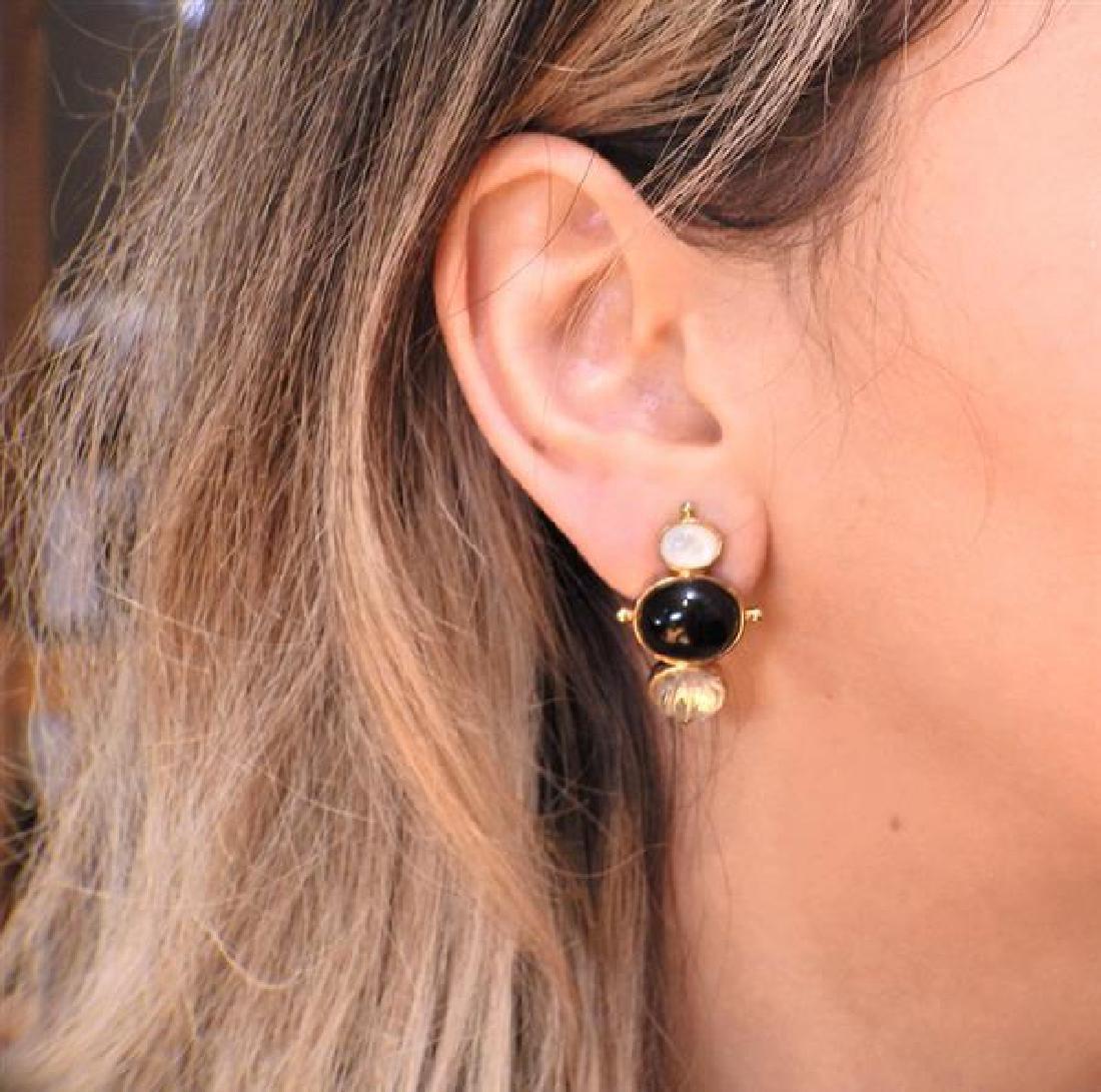 Kylo Sterling Multi Gemstone Earrings - 5