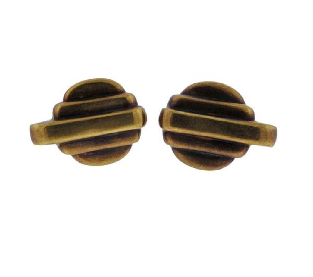 Vahe Naltchayan 18k Gold Cufflinks