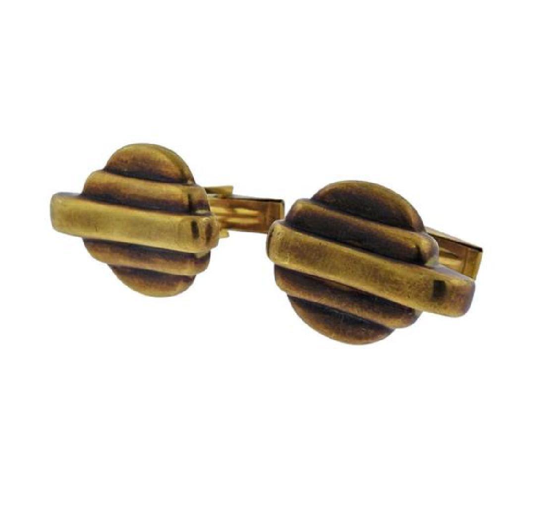 Vahe Naltchayan 18k Gold Cufflinks - 2