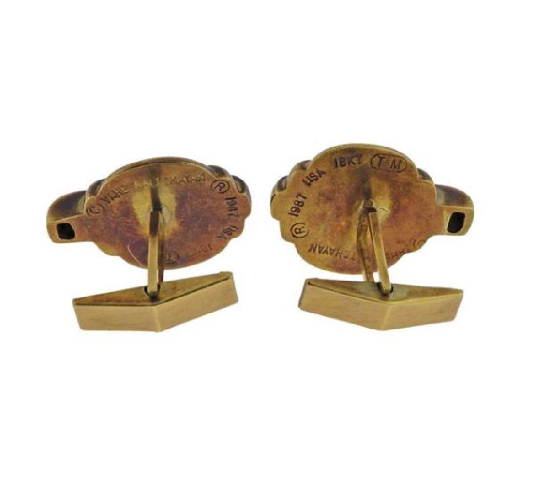 Vahe Naltchayan 18k Gold Cufflinks - 3