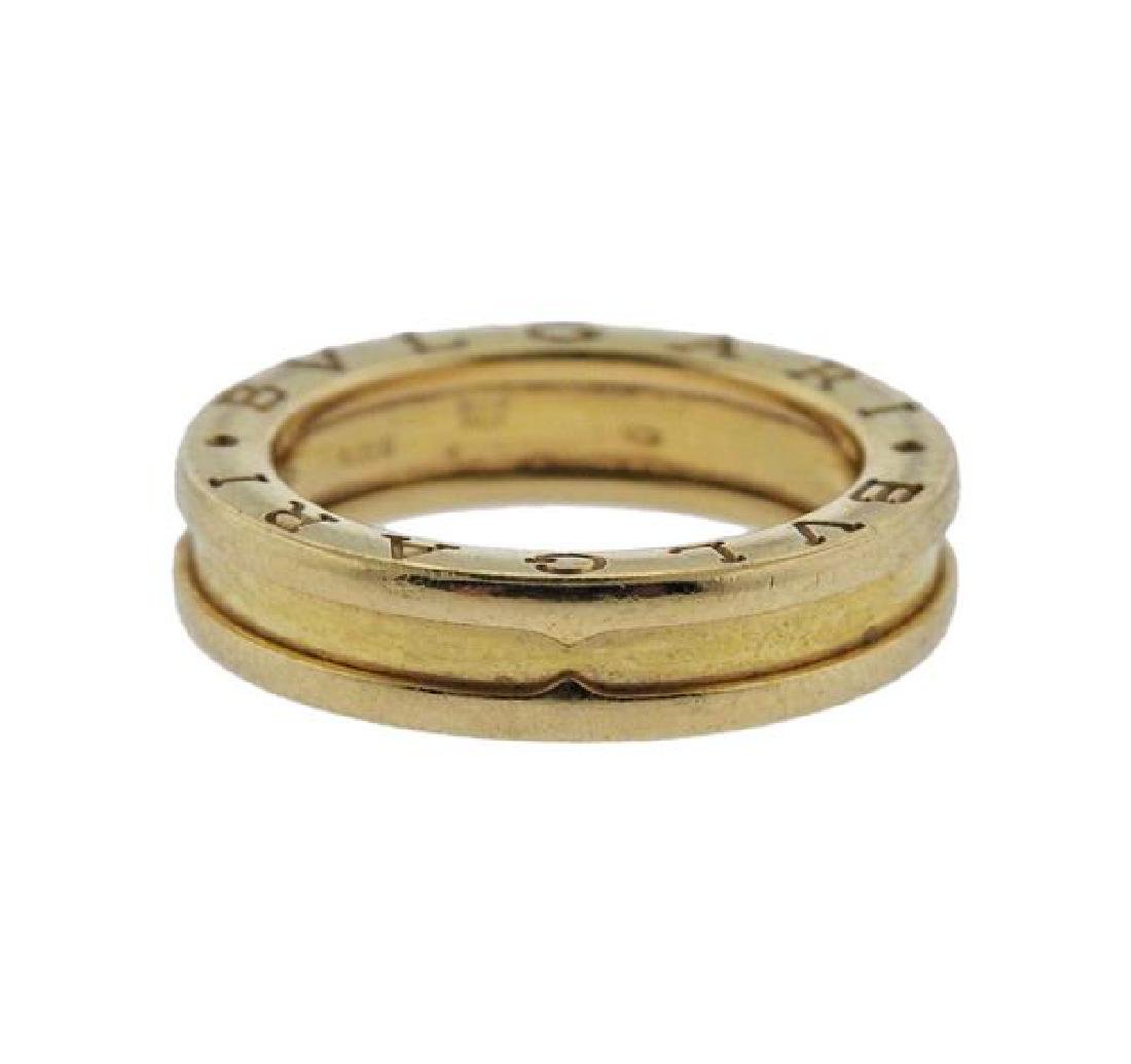 Bvlgari Bulgari B.Zero1 18k Gold Band Ring