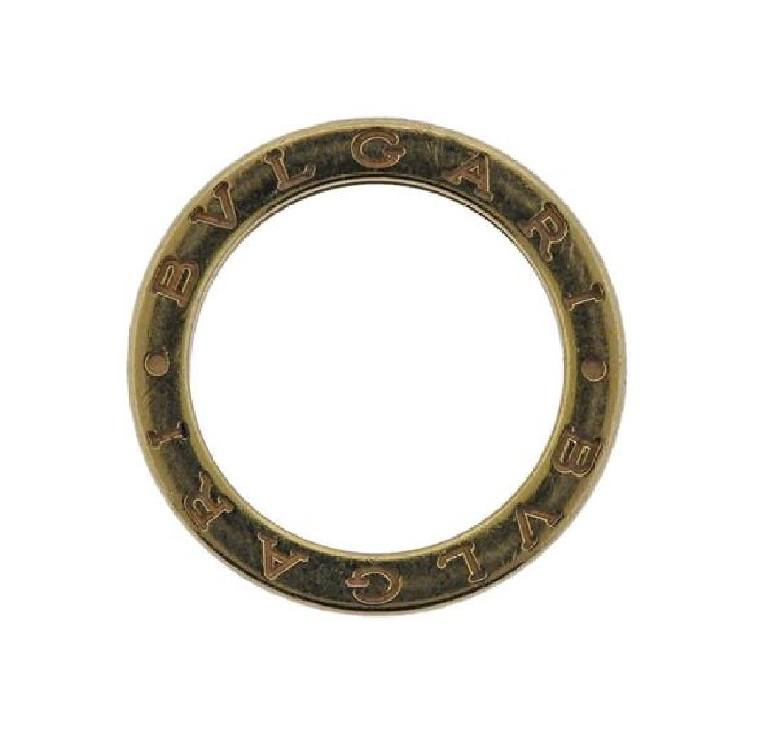 Bvlgari Bulgari B.Zero1 18k Gold Band Ring - 2