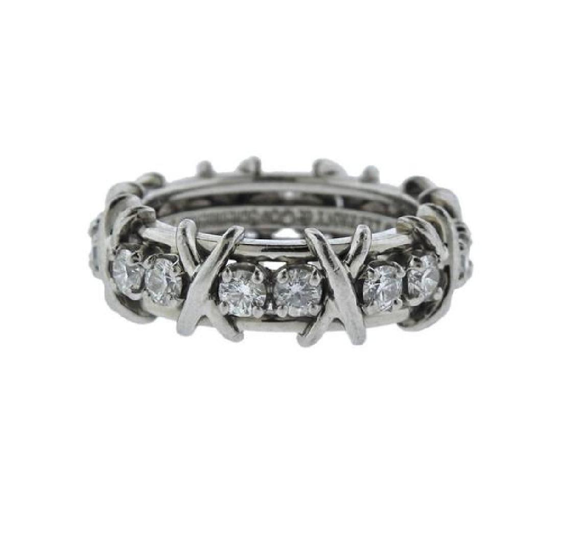 Tiffany & Co Schlumberger Gold Platinum Diamond X