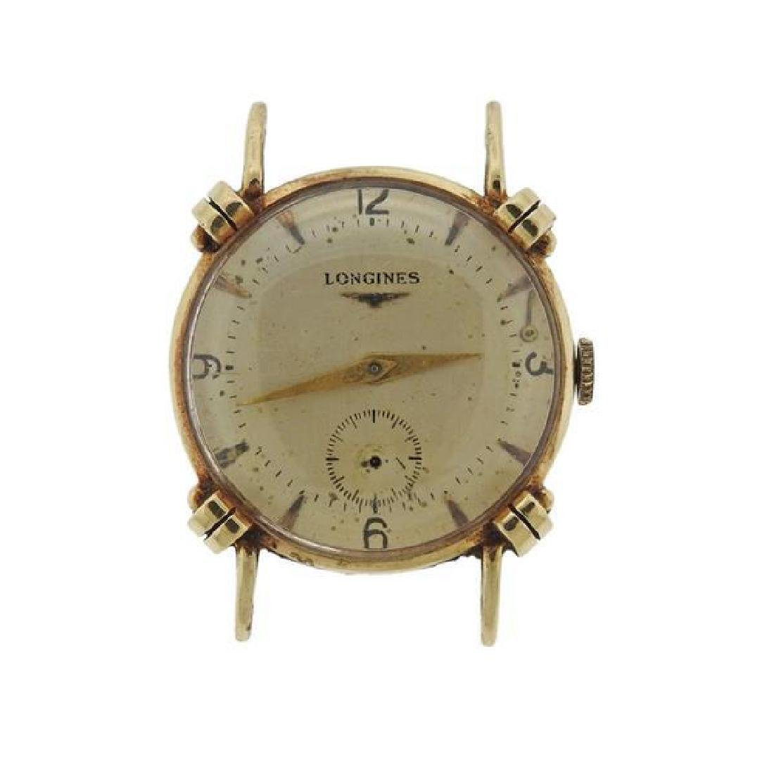 Vintage Longines 14k Gold Manual Wind Watch
