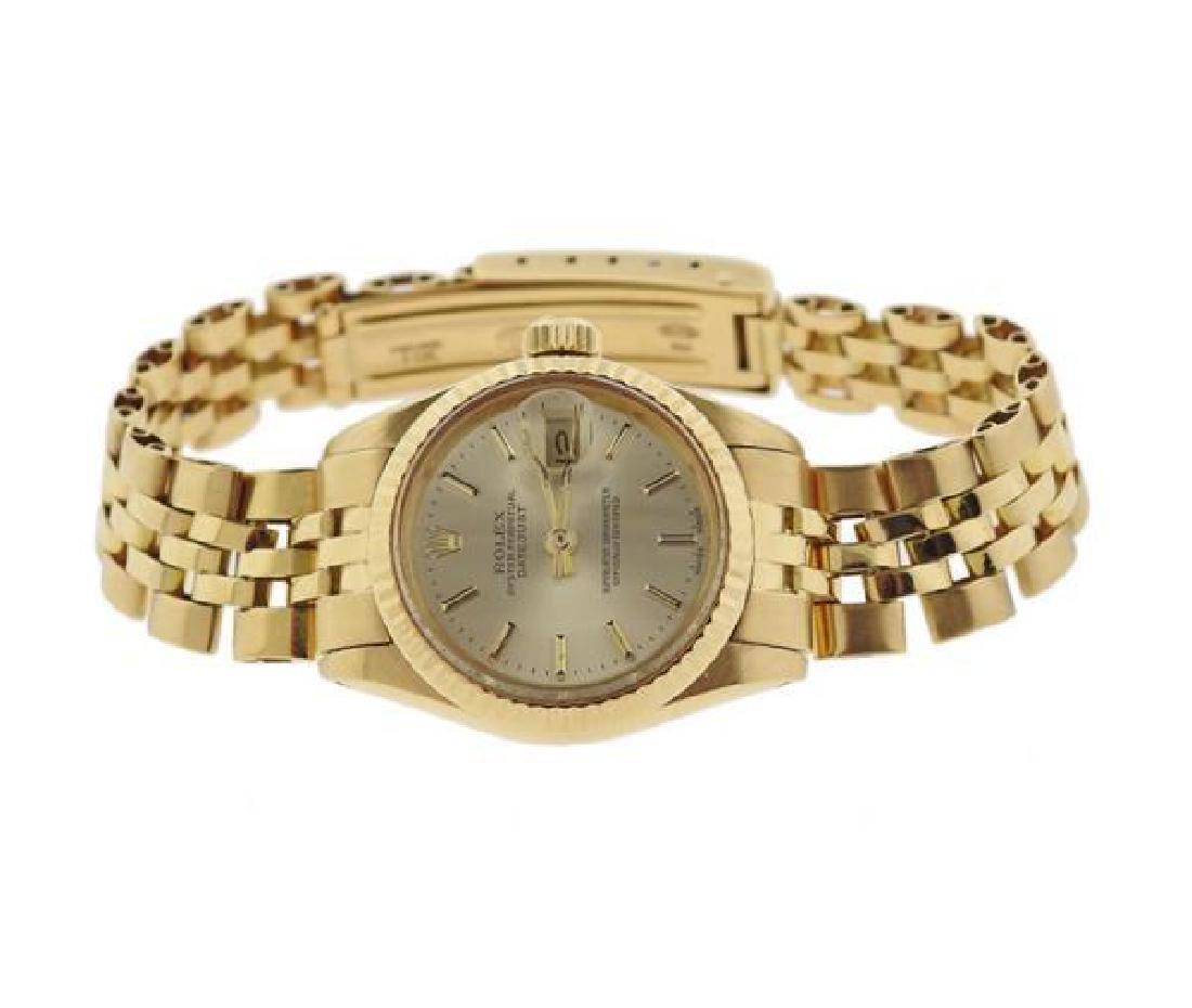 Rolex Datejust 18k Gold Lady's Watch ref. 6917