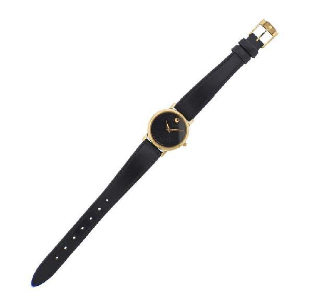 Movado Classic Two Tone Steel Watch