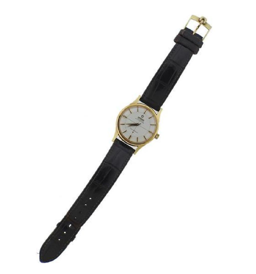 Omega Constellation 14k Gold Chronometer Watch