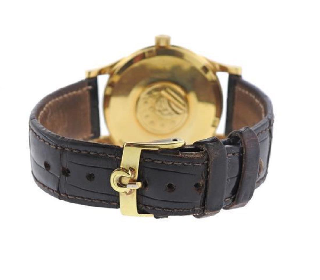 Omega Constellation 14k Gold Chronometer Watch - 3