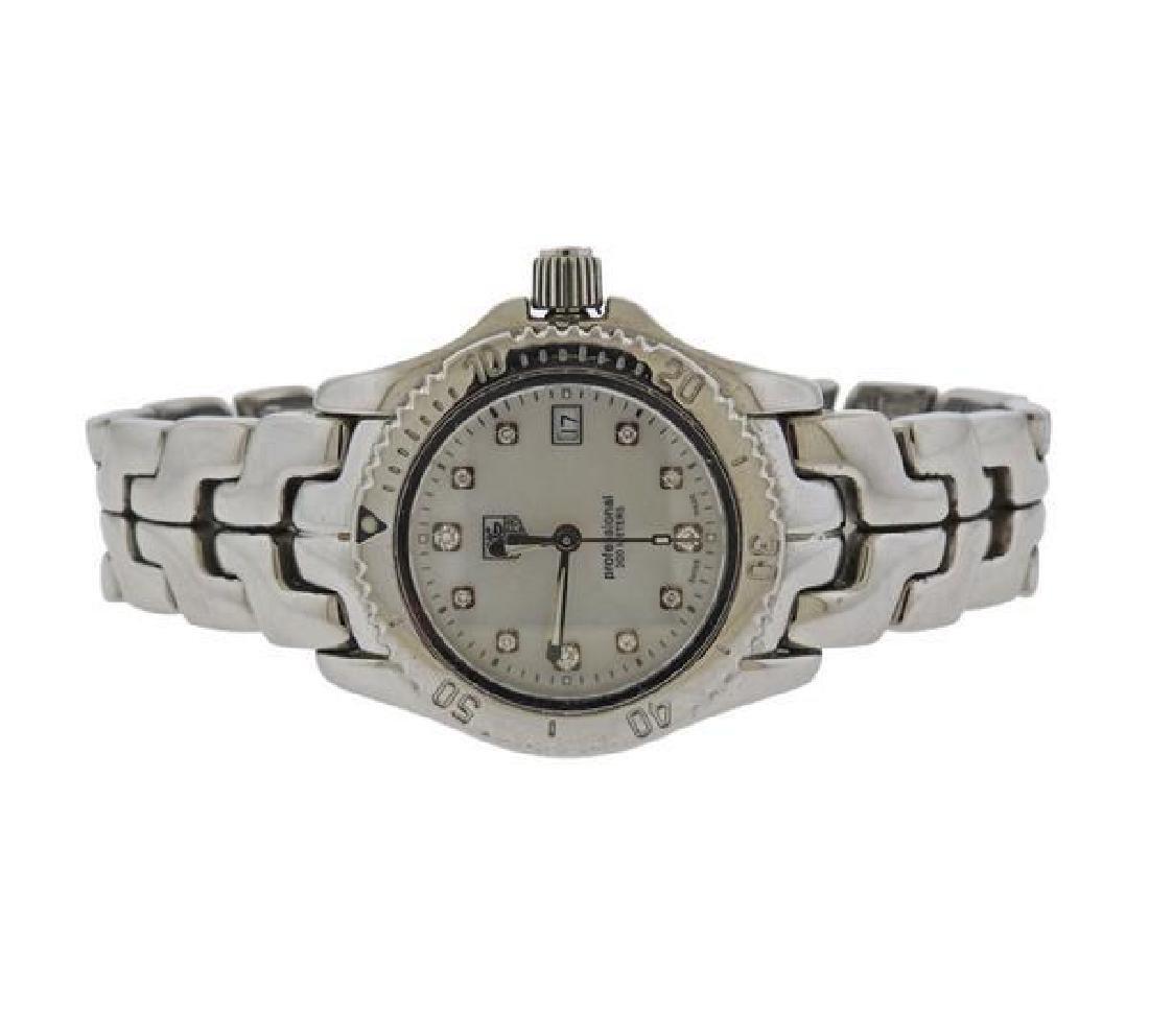 Tag Heuer Link Steel Diamond MOP Watch WT1318