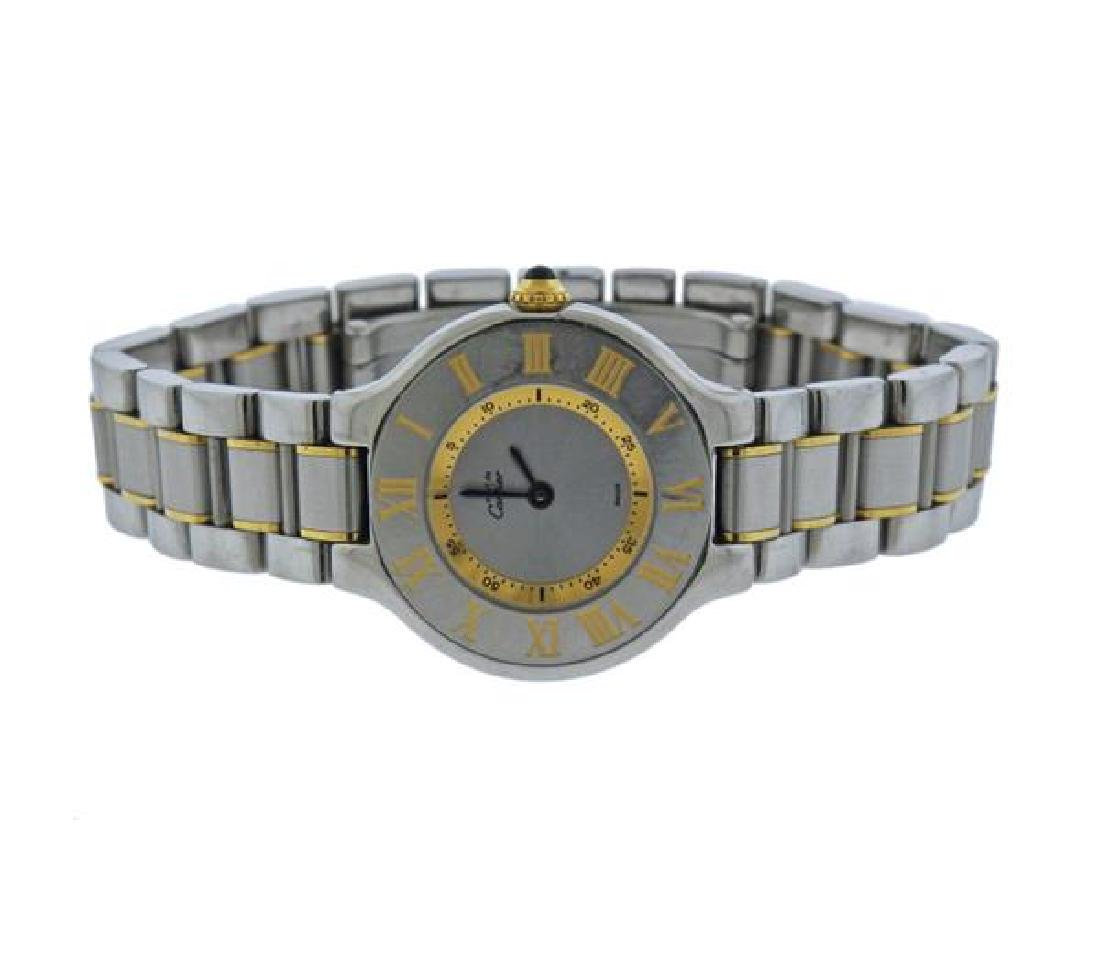 Cartier Must De Cartier 21 Steel Quartz Lady's