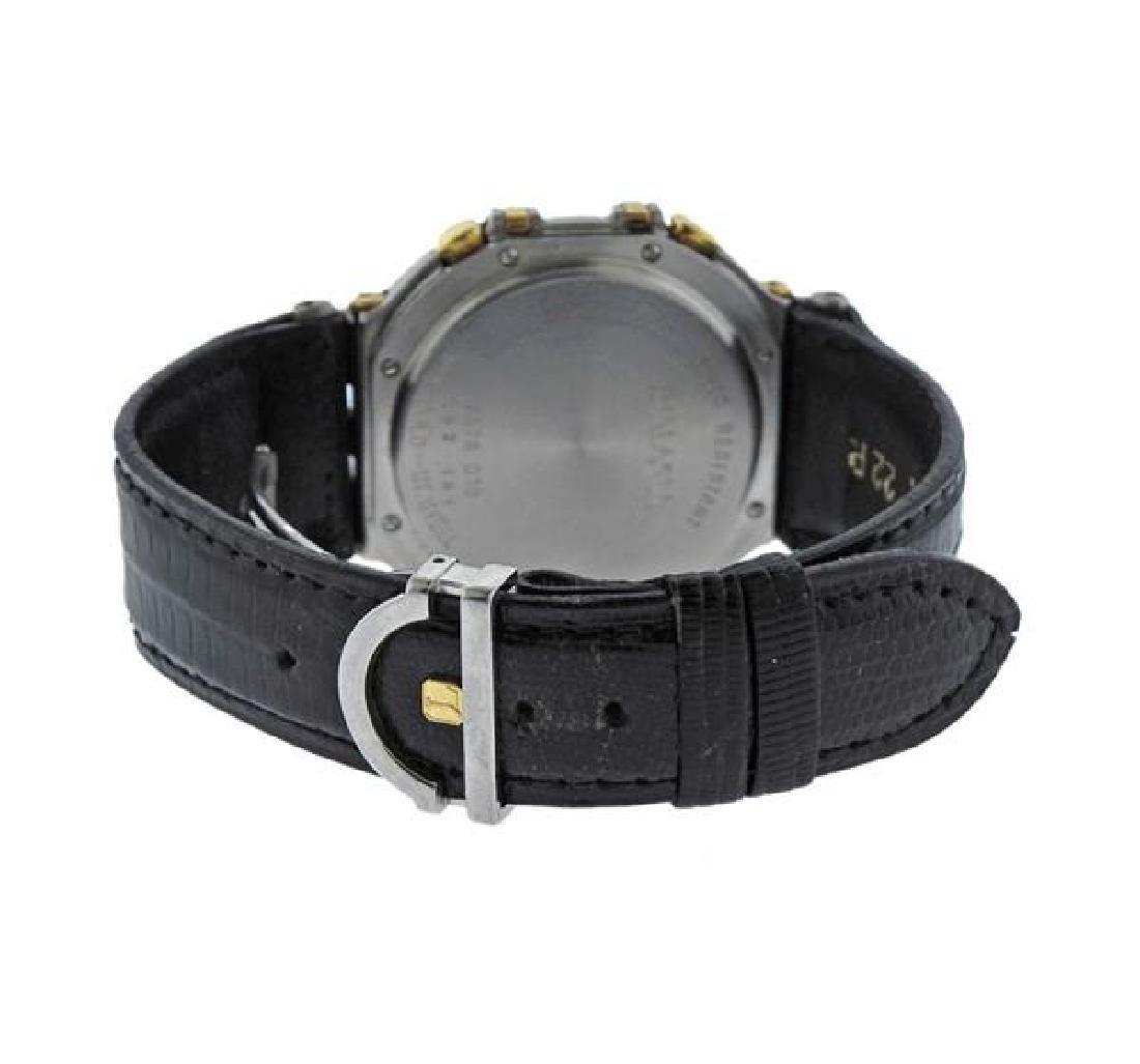 Jean Lassale Chronograph 18k Gold Steel Watch - 2