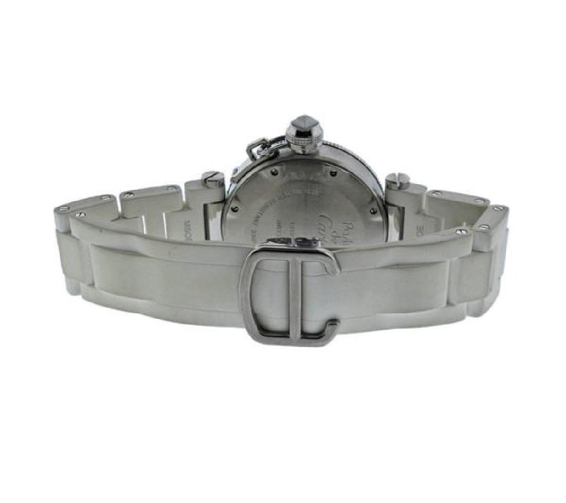 Cartier Pasha Steel Rubber Watch - 2