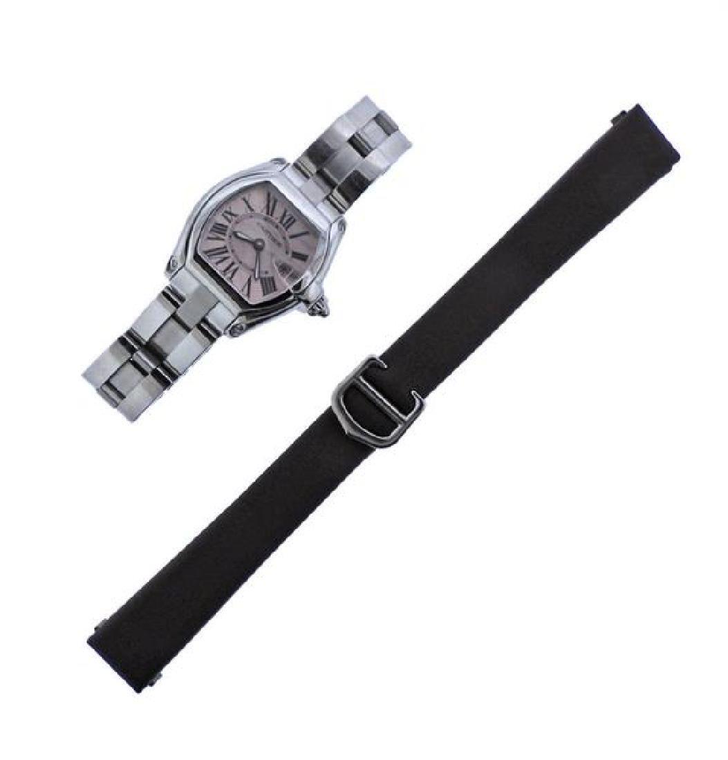 Cartier Roadster Steel  Quartz Watch