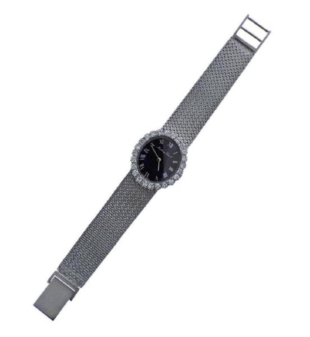 Matthew Tissot 14k Gold Diamond Lady's Watch