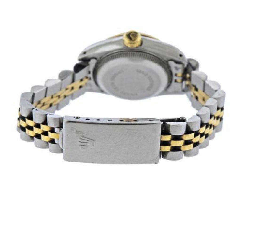 Rolex Date 18k Gold Steel Watch 69173 - 2
