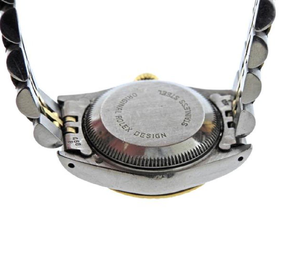 Rolex Date 18k Gold Steel Watch 69173 - 3