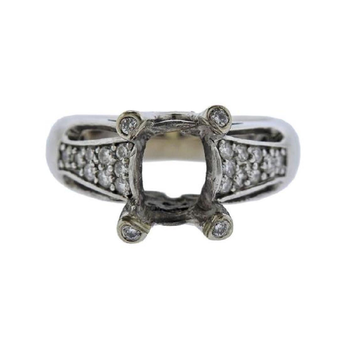 14k Gold Diamond Ring Setting