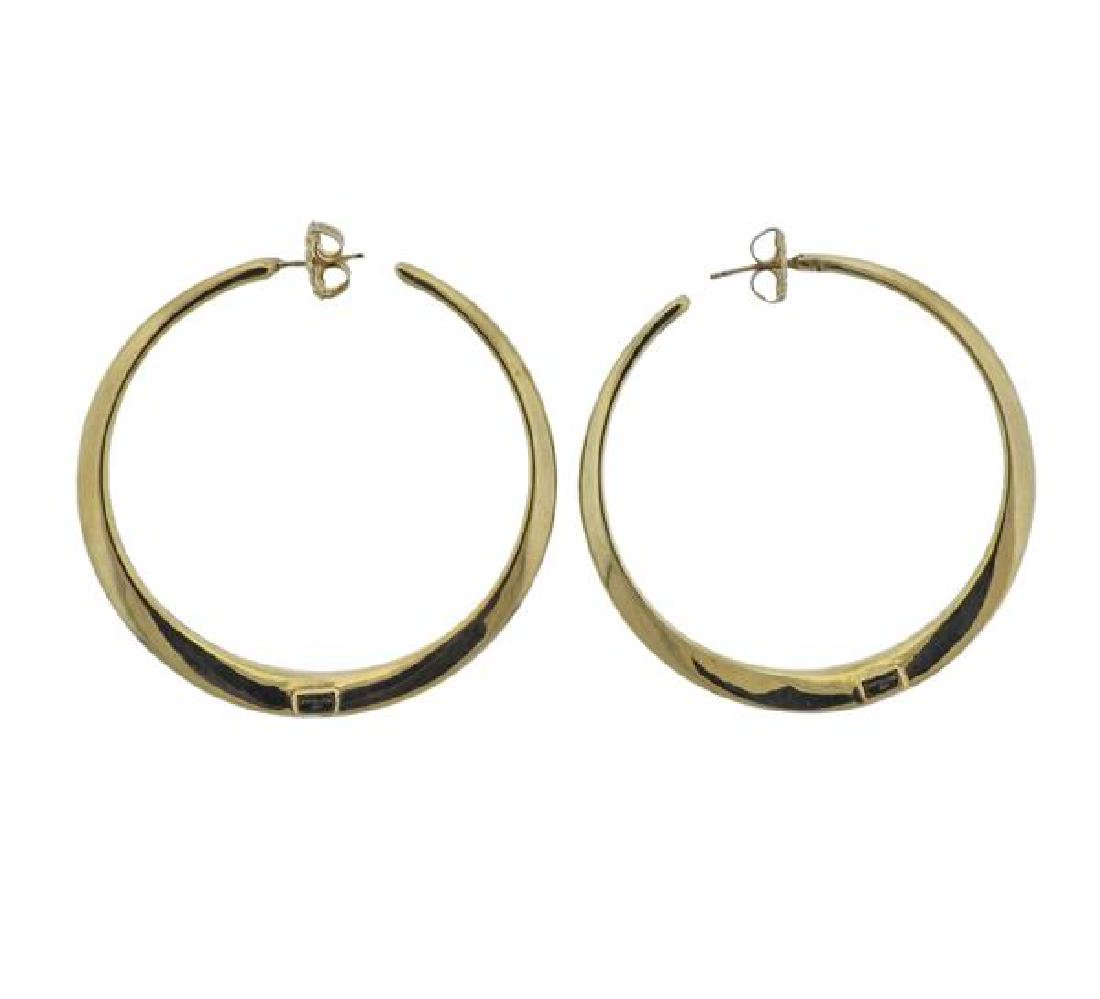 Ippolita 18k Gold Hoop Earrings