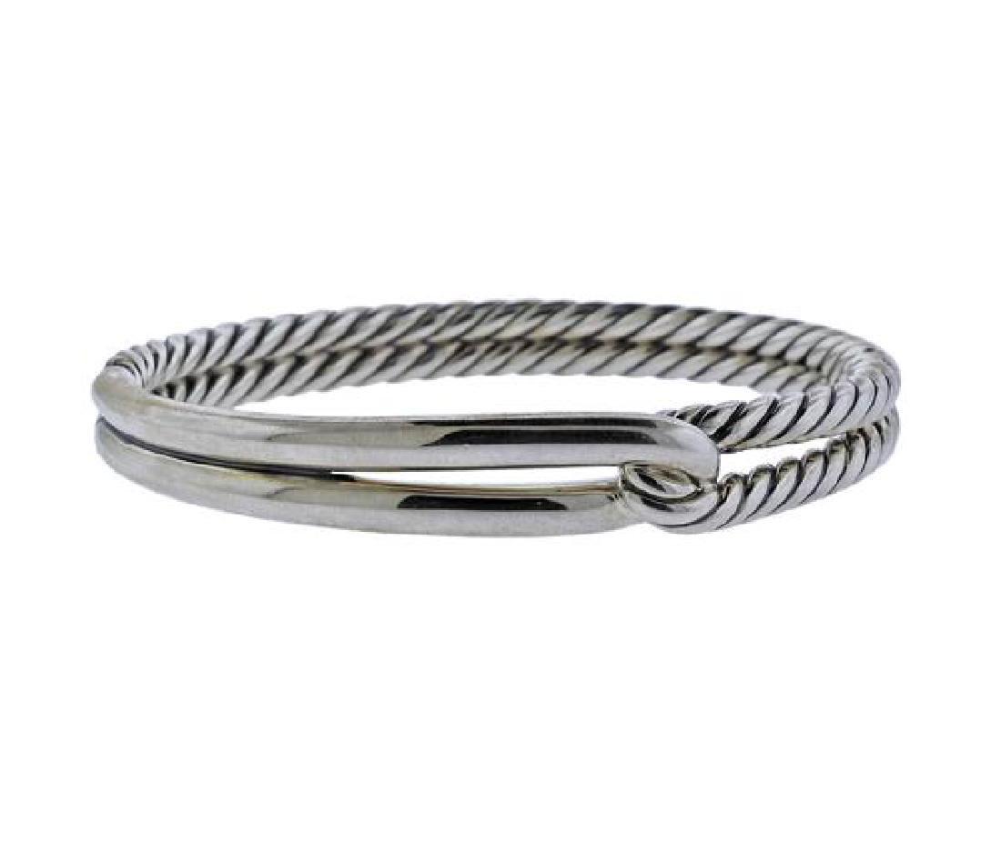 David Yurman Silver Cable Bracelet