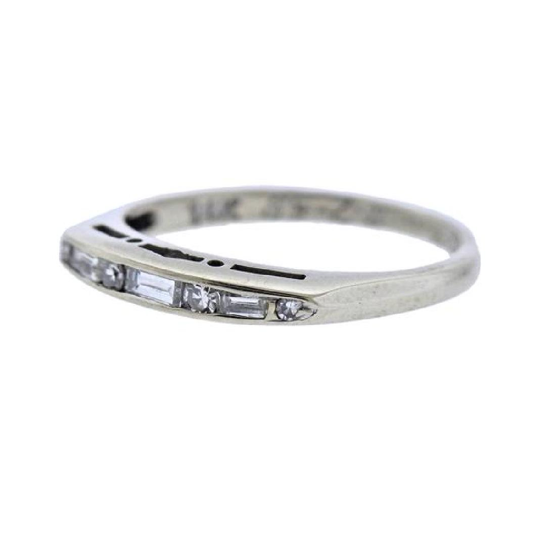14k Gold Diamond Ring - 2