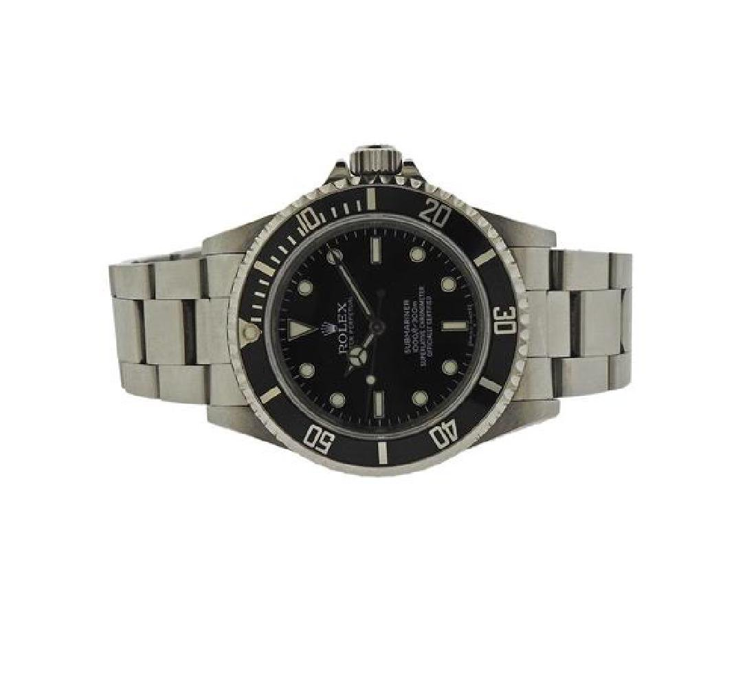 Rolex Submariner Black Dial Watch 14060