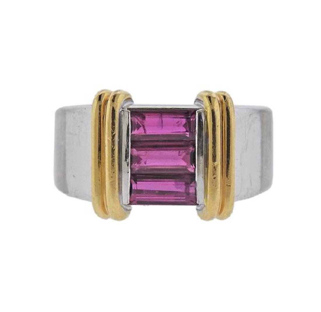 Gubelin 18K Gold Ruby Ring
