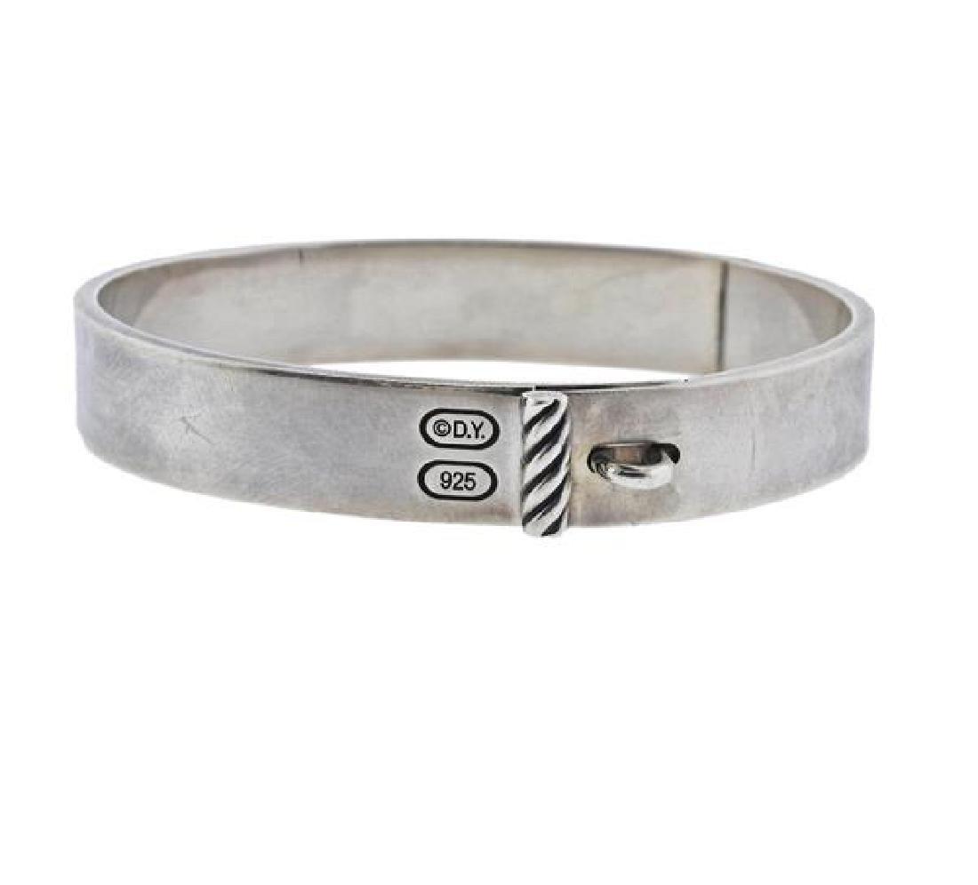 David Yurman Sterling Silver Bangle Bracelet