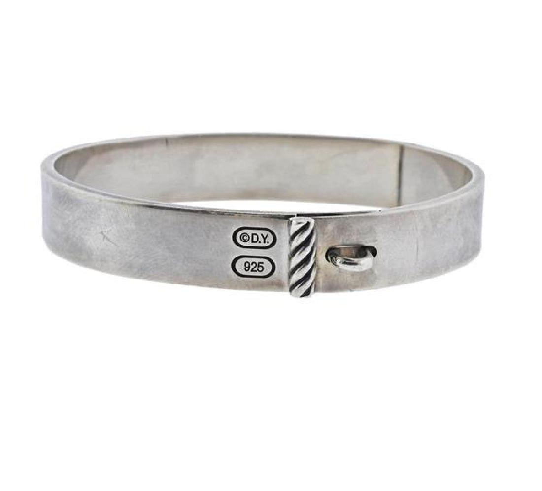 David Yurman Sterling Silver Bangle Bracelet