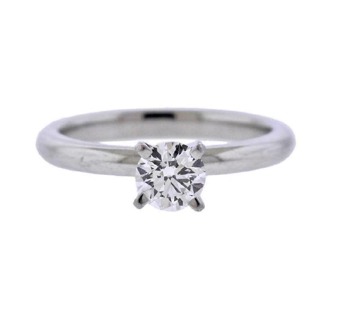 Platinum 0.67ct Diamond Engagement Ring