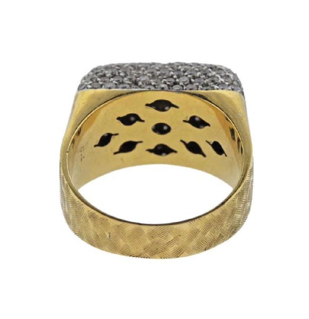 18k Gold Diamond Ring - 3