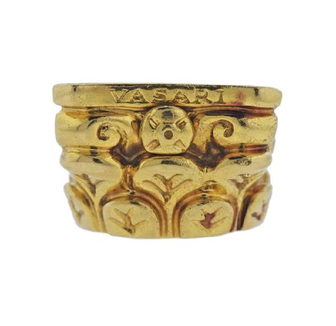 Vasari 18K Gold Ring