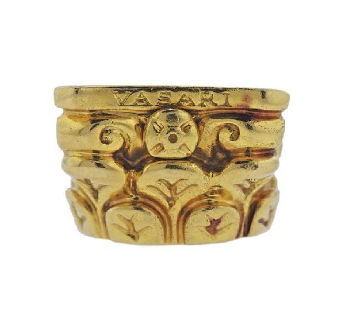 Vasari 18K Gold Ring