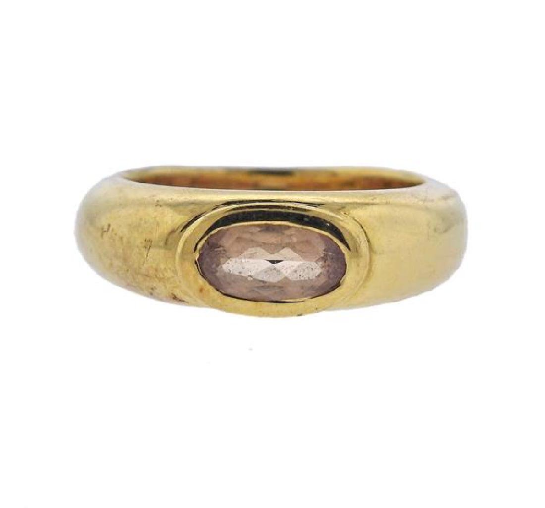 H. Stern 18K Gold Gemstone Ring
