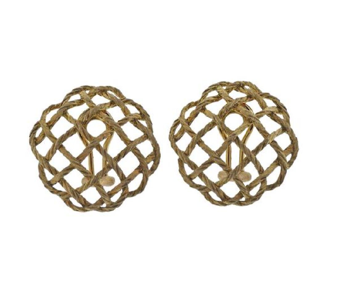 Buccellati 18K Gold Earrings