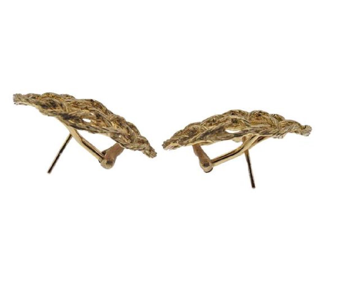Buccellati 18K Gold Earrings - 2